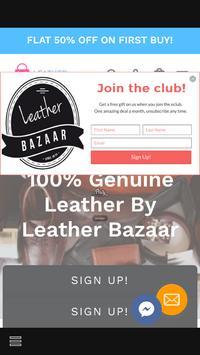 Leather Bazaar poster
