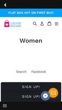 Leather Bazaar apk screenshot
