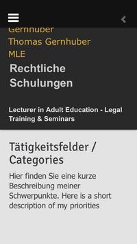 LehreDozenturGernhuber apk screenshot