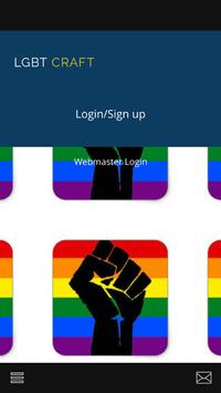 LGBTcraft poster
