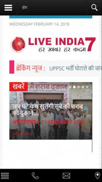Live india 7 news poster