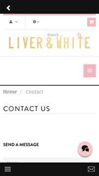 Liver and White apk screenshot