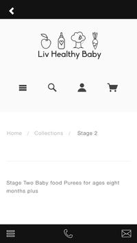 Liv Healthy Baby apk screenshot