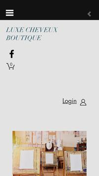 Luxe Cheveux Boutique apk screenshot