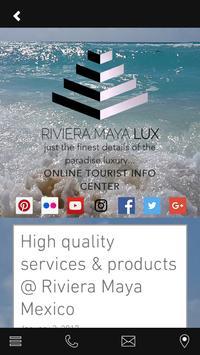 Lux Riviera Maya apk screenshot