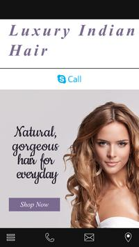 Luxury Indian Hair poster
