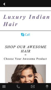 Luxury Indian Hair apk screenshot
