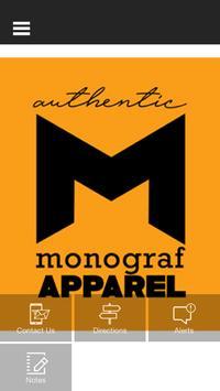 Monograf Apparel poster
