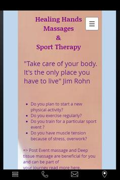 Massages and Sport Therapy apk screenshot