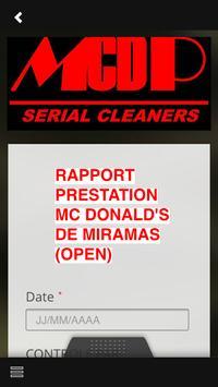 MCD PROCESS apk screenshot