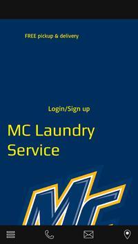 MC Laundry Service poster