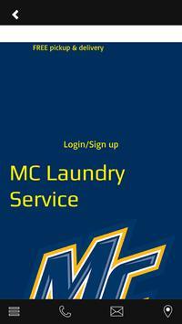 MC Laundry Service screenshot 1