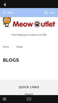 Meow Outlet apk screenshot