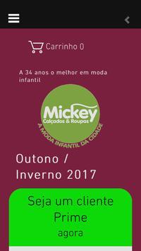 Mickey Calcados e Roupas poster