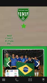 Mid Coast Futsal poster