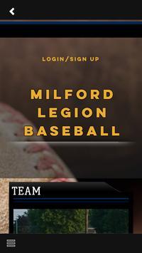Milford Legion Baseball screenshot 5