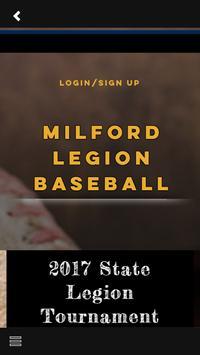 Milford Legion Baseball screenshot 2