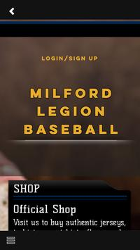 Milford Legion Baseball screenshot 3
