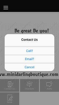 Mini darlings boutique apk screenshot