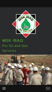 MSK Iraq Oil and Gas poster