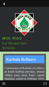 MSK Iraq Oil and Gas screenshot 4