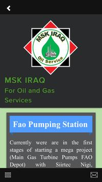 MSK Iraq Oil and Gas screenshot 5