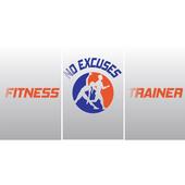 no excuses fitness trainer icon