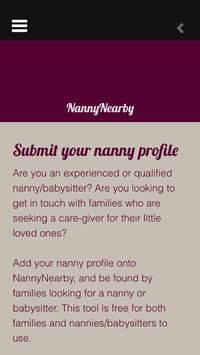 NannyNearby screenshot 1
