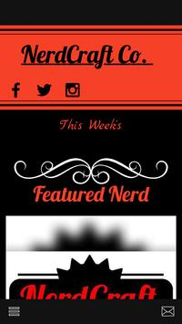 NerdCraft Co poster