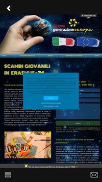 Nuova Generazione Europa apk screenshot