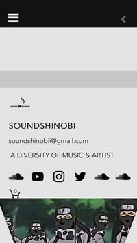 Soundshinobi poster