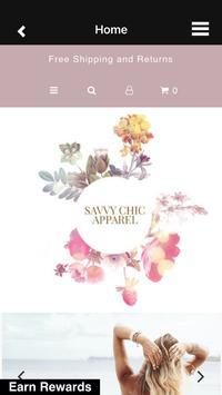 Savvy Chic Apparel poster