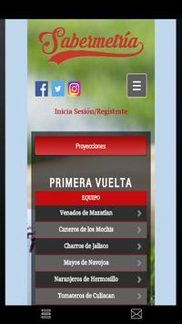 Sabermetria apk screenshot