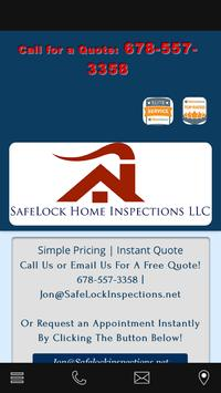 SafeLock Home Inspections poster