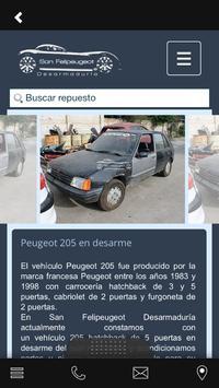 San Felipeugeot apk screenshot