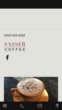 Sasser Coffee poster