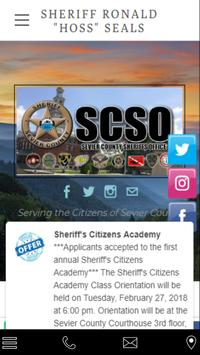 Sevier County Sheriff's Office poster