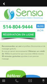 Sensia Massage apk screenshot