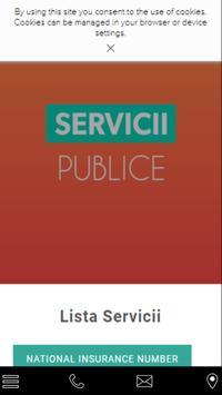 Servicii Publice poster