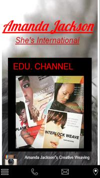 She's International Salon poster
