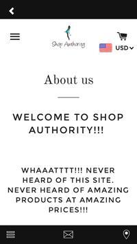 Shop Authority screenshot 1