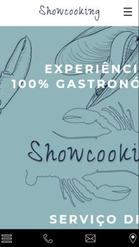 Showcooking for Hostels poster