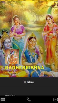 Shri Radha radhika poster