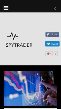 SPYTRADER poster