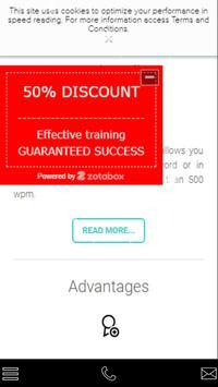 SpeeRead Speed Reading App apk screenshot