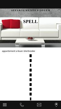 SPELL location appartement poster