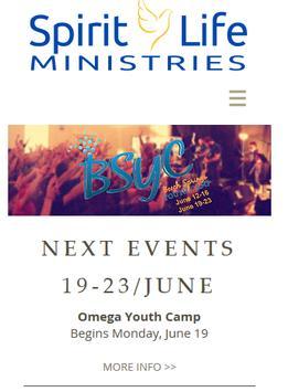 Spirit Life Ministries poster