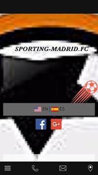 sporting madrid poster