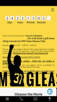 Sports Trivia for Team Gleason poster