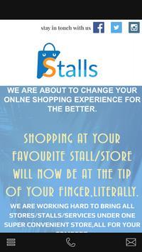 Stalls Shopping poster